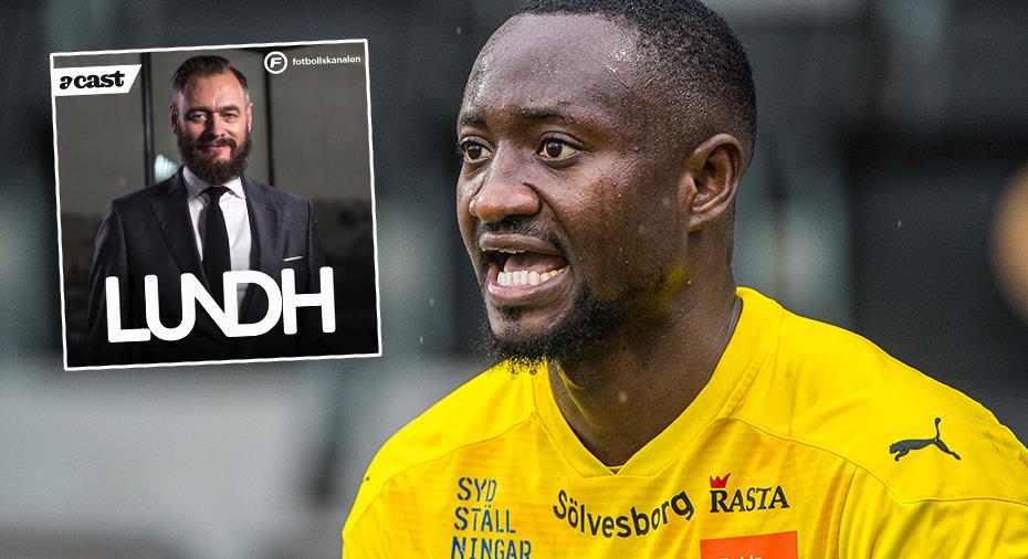 """Larsson grämer sig över att Ogbu inte fick längre kontrakt: """"Hade säkert gått - när han kom var han som en hösäck"""""""