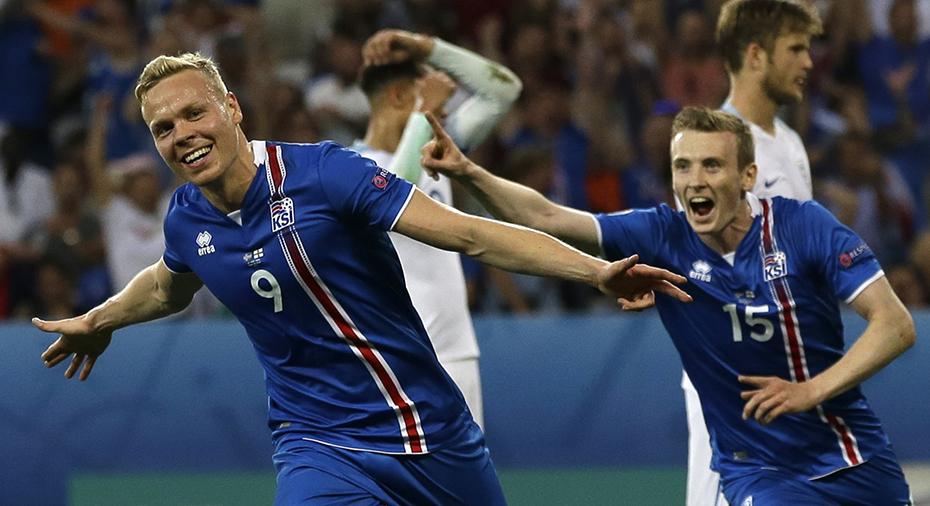 TV  EM s största skräll - Island slog ut England b4b2cb02e0ddf