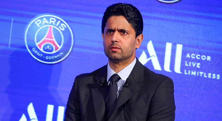 PSG-presidenten åtalad i Schweiz i muthärva inom Fifa