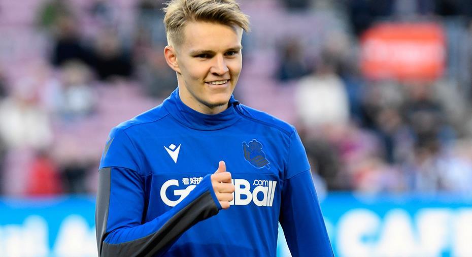 """Presidenten säker – Ødegaard stannar i Real Sociedad: """"Bästa alternativet"""""""