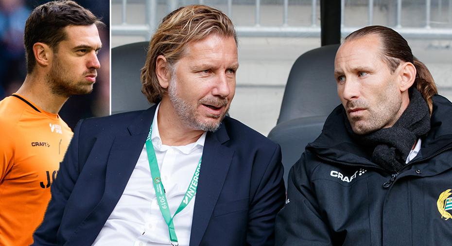"Jansson lugn trots dubbla utgående målvaktskontrakt: ""Vi har en bra dialog"""