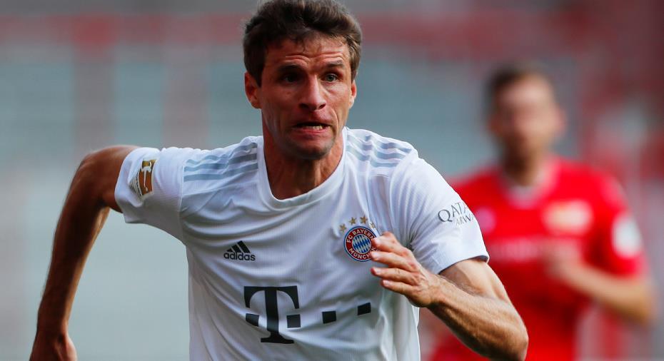 """Müller om annorlunda upplevelsen: """"Var lite som en veteranmatch"""""""