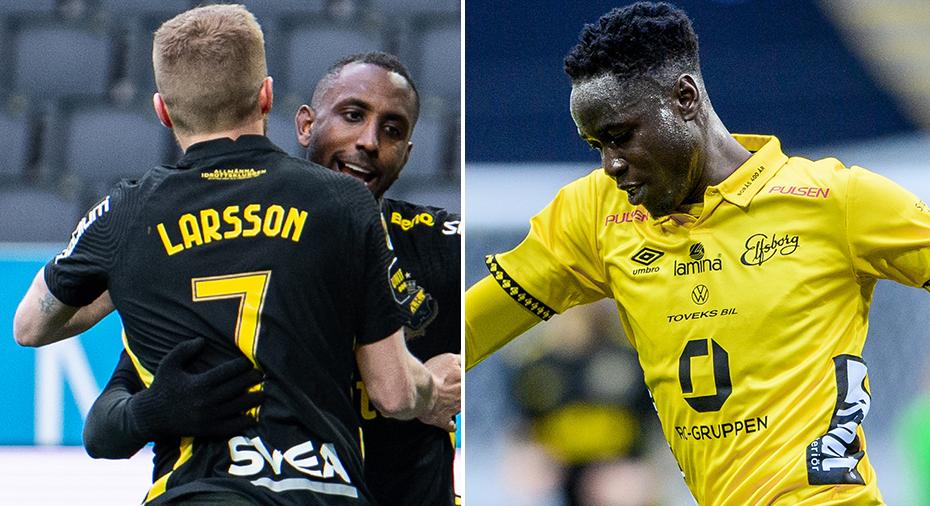 TV: AIK tar kliv upp i toppen - slog Elfsborg efter Okumu-tabbe