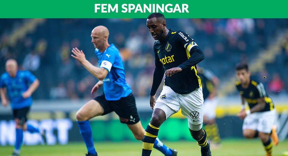 """FEM SPANINGAR: """"Goitom mästerlig i startcomebacken"""""""
