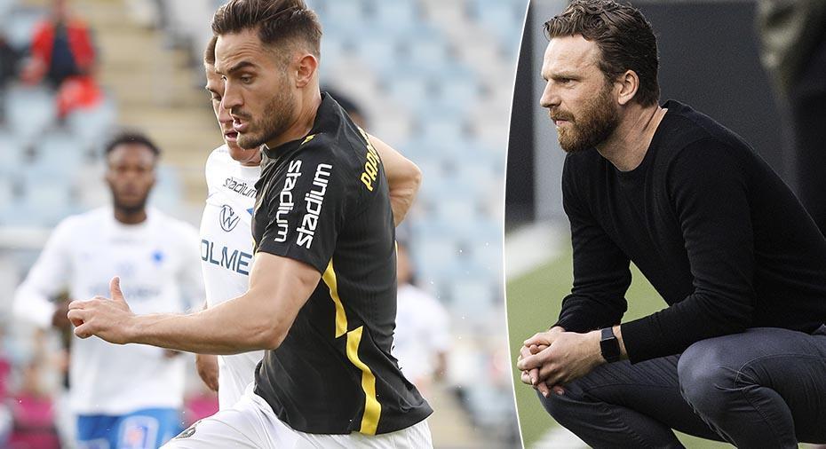 """Trots förlust - AIK:s tränare nöjd med spelet: """"Prestationen är tillräckligt bra för att vi ska vinna"""""""