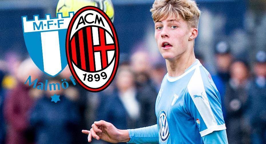 """Nu lämnar mittfältstalang MFF - säljs till Milan: """"Svårt att tacka nej"""""""