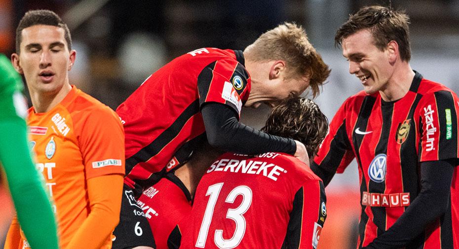 TV: JUST NU: BP tar ledningen - Öhman nätar mot gamla klubben