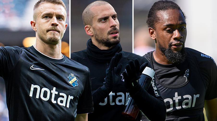 AIK:s besked: trio lämnar klubben efter säsongen