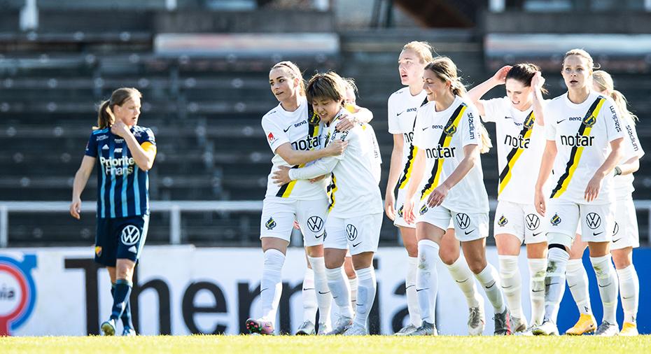 AIK besegrade Djurgården i Stockholmsderbyt - vände och vann efter Hayashis dubbel