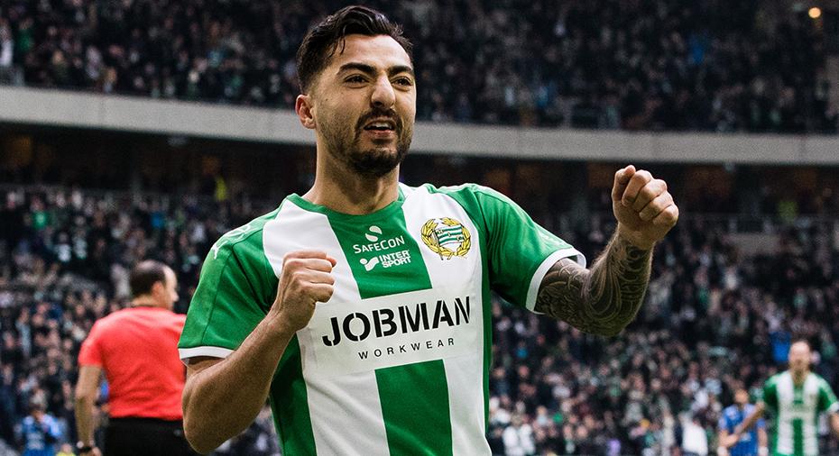"""Hamad tränar med Bajen igen: """"Vi har välkomnat honom"""""""