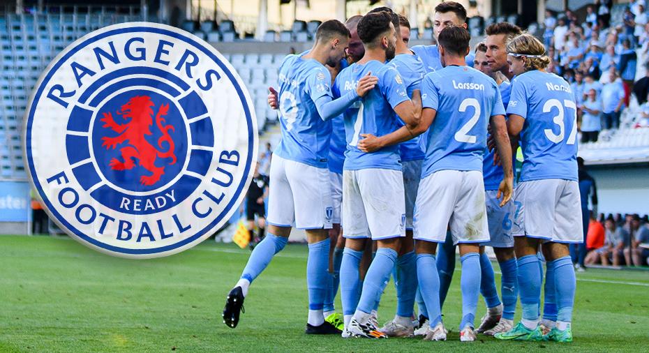 Klart: MFF möter Rangers vid avancemang till tredje kvalrundan till Champions League