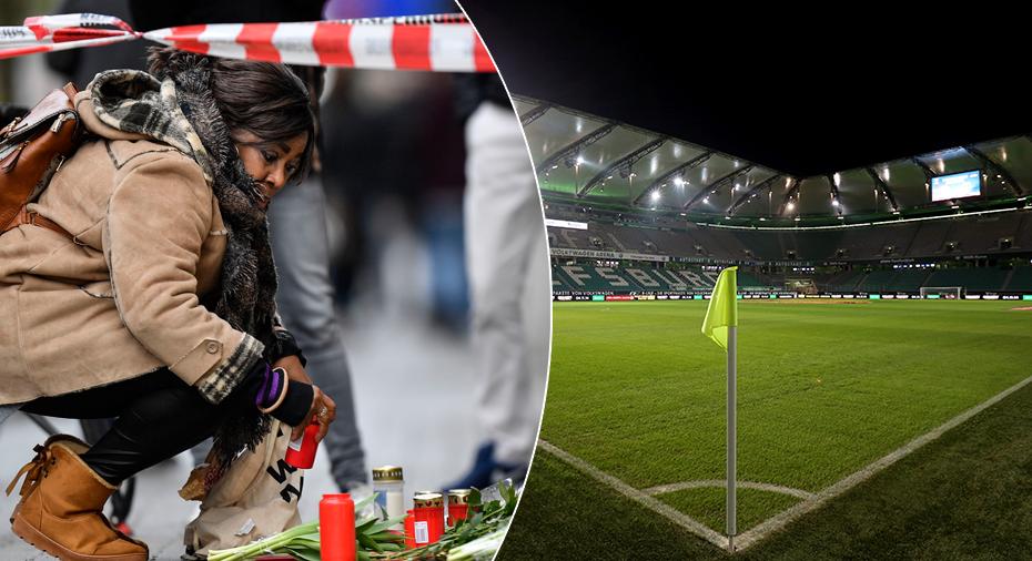 Efter terrordådet – tyst minut inför MFF:s möte med Wolfsburg