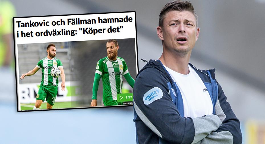 """Tomasson om Bajens halvtidsdispyt: """"Kan inte föreställa mig att det skulle ske i Malmö"""""""