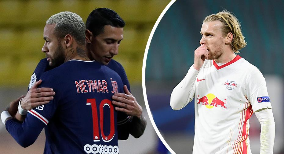 """""""PSG tar revansch - Forsbergs Leipzig förlorar"""""""