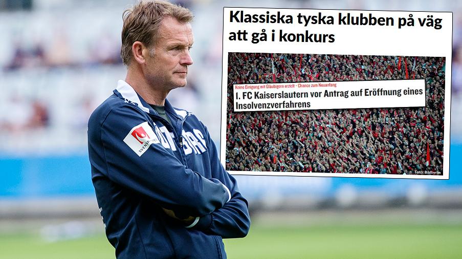 """Kaiserslautern nära konkurs – Torbjörn Nilsson: """"Tragiskt – betyder så mycket för området"""""""