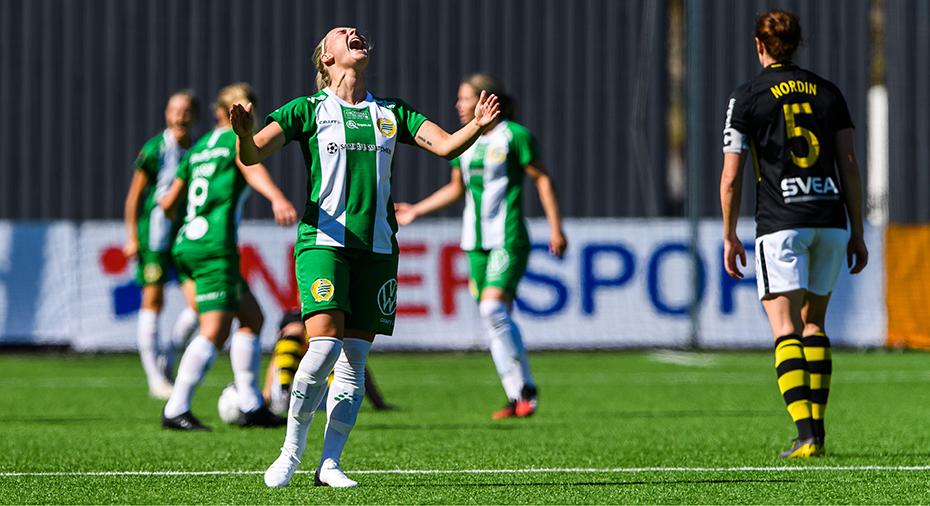 Hammarby tog säsongens första seger