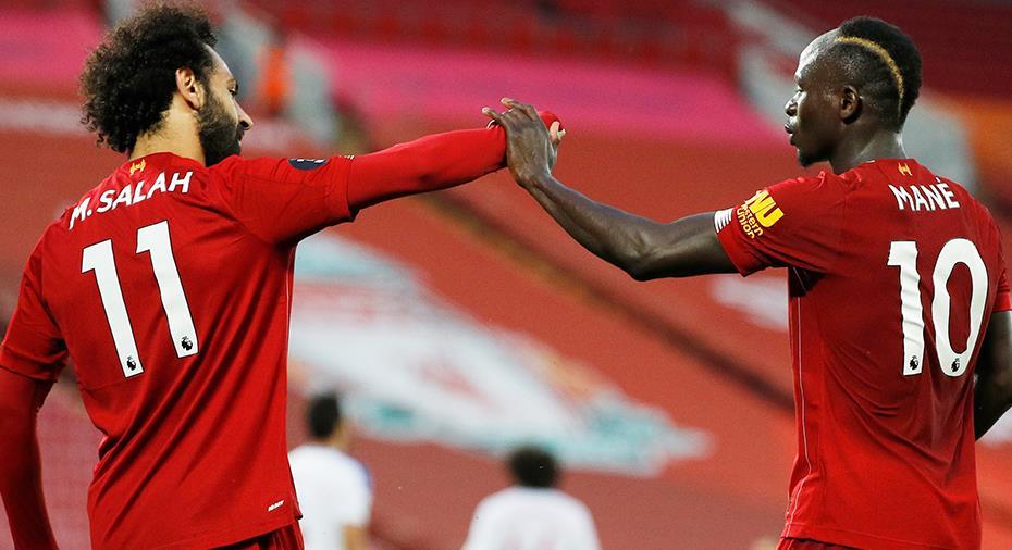 Liverpool körde över Palace - nära att säkra titeln