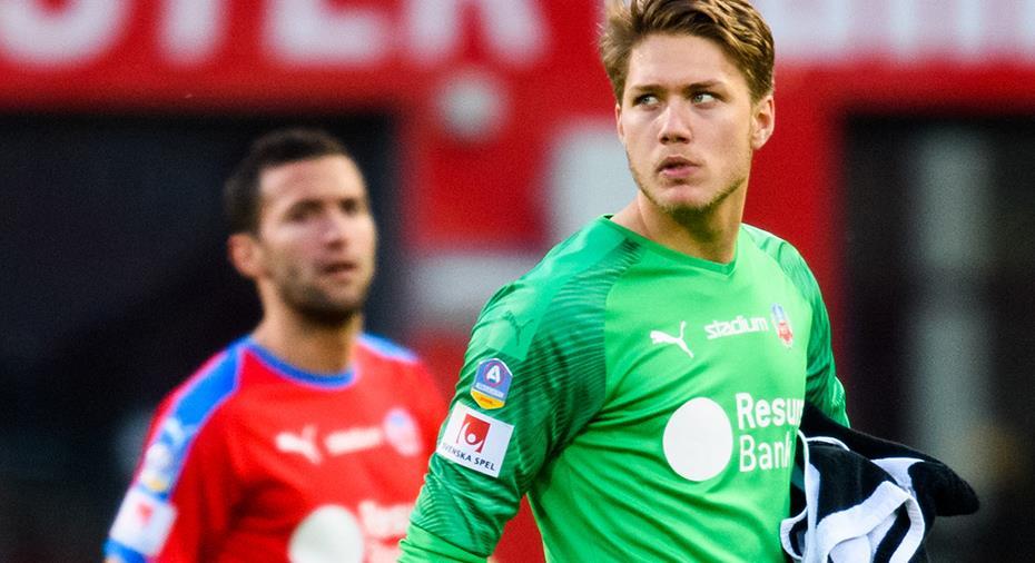 """HIF-målvakten: """"Var ett kontrakt på bordet från en annan allsvensk toppklubb"""""""