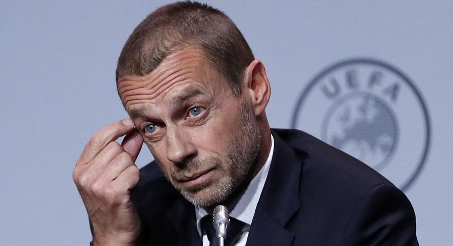 Efter coronautbrottet - Uefa kallar till stort krismöte med ligor och förbund