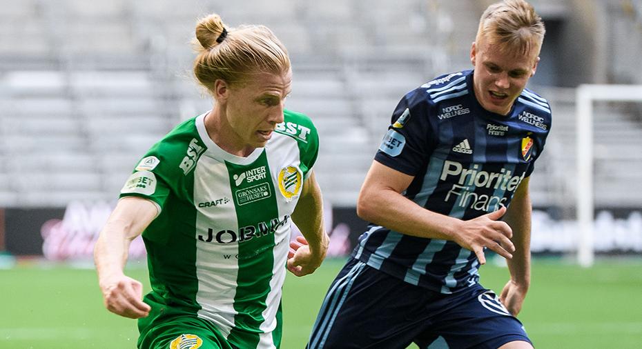 """Ny i allsvenskan - nu är Ludwigson poängbäst i Hammarby: """"Blivit en konstig serie att komma in i"""""""