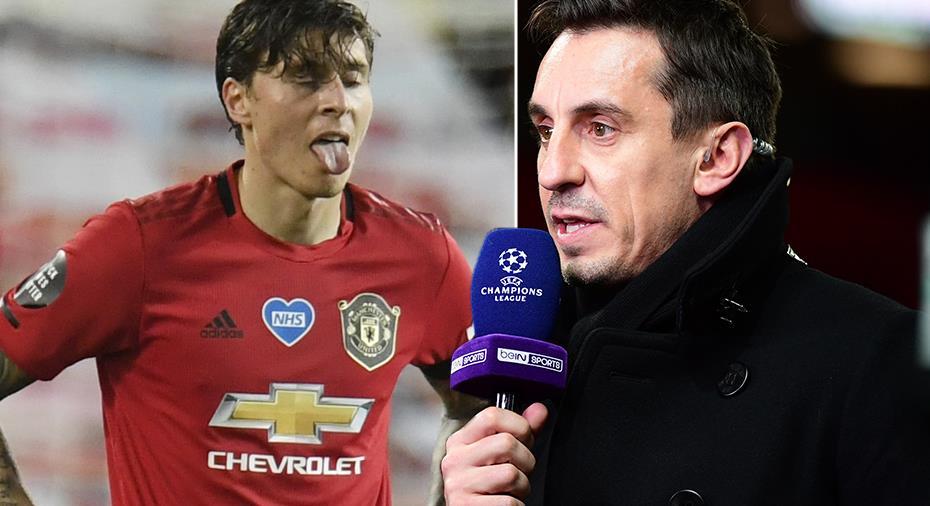 """Neville hoppas United värvar ersättare till Lindelöf: """"Vill se en dominant och snabb mittback"""""""