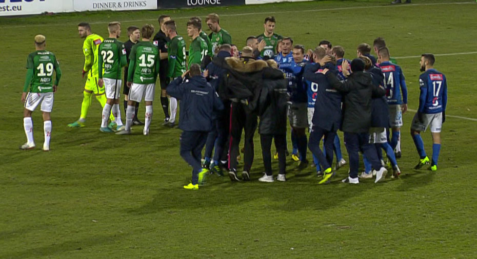 TV: J-Södra och Norrby kryssade – stannar kvar i superettan