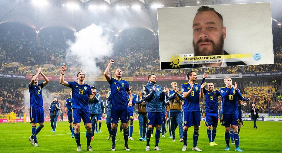 """TV: Lundh om EM i sommar: """"I Rom är det ingen som tror på det längre"""""""