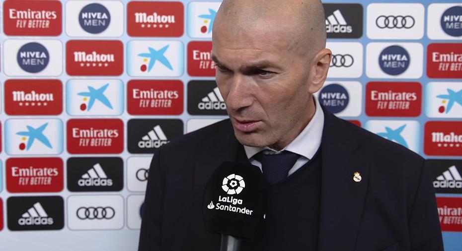 """TV: Zidane var ifrågasatt inför El Clásico: """"Var aldrig orolig för mitt jobb"""""""