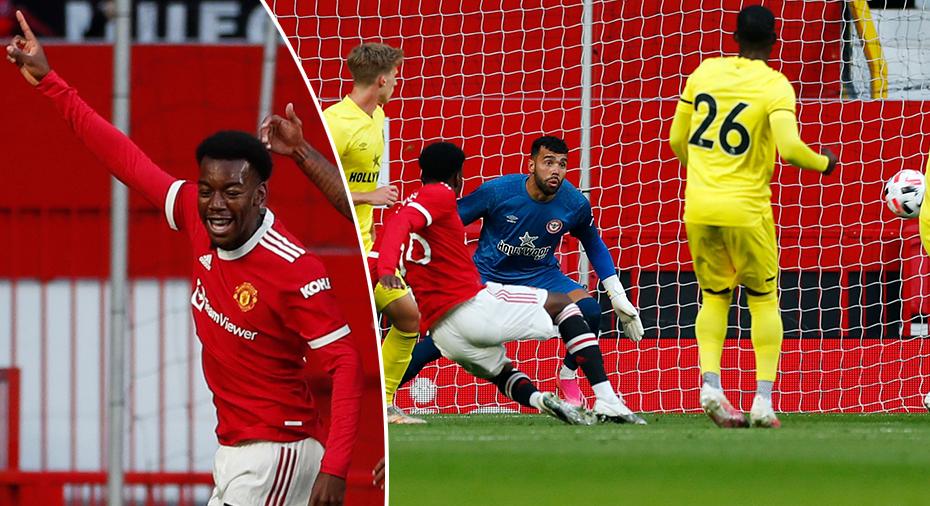 """Elanga målskytt igen för United - hyllas: """"Briljant volley"""""""