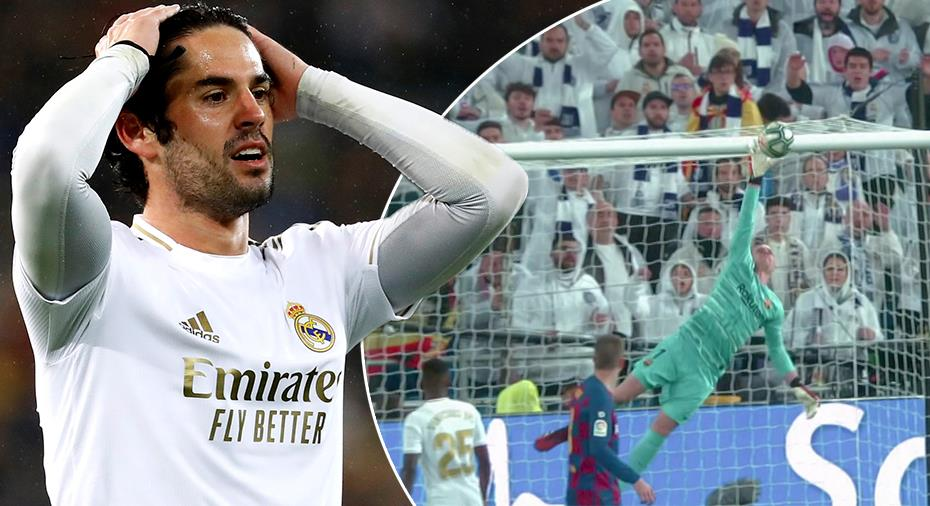 """TV: Barcelona-målvaktens jätteräddning: """"Dök som en panter - makalös parad"""""""