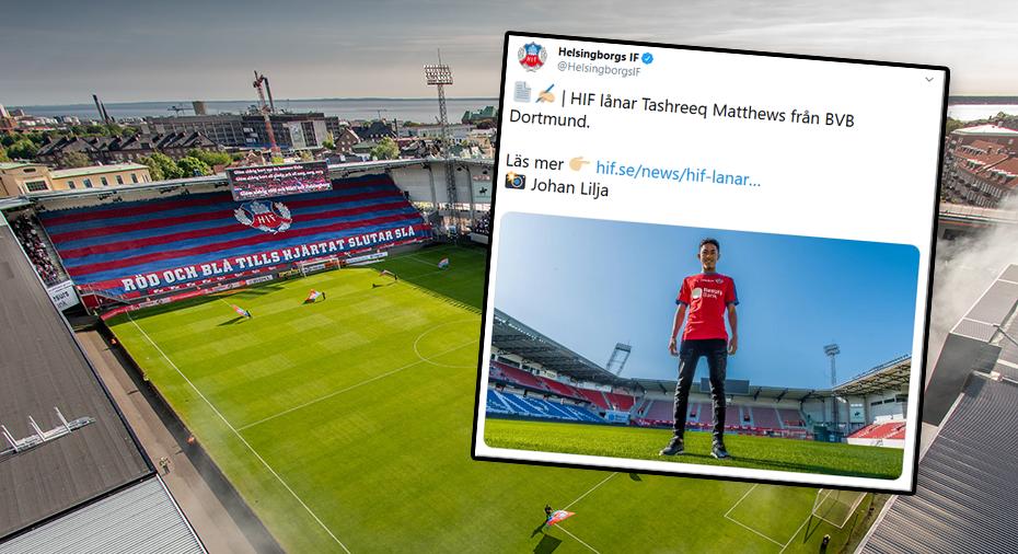 Officiellt: Helsingborg lånar talang från Borussia Dortmund