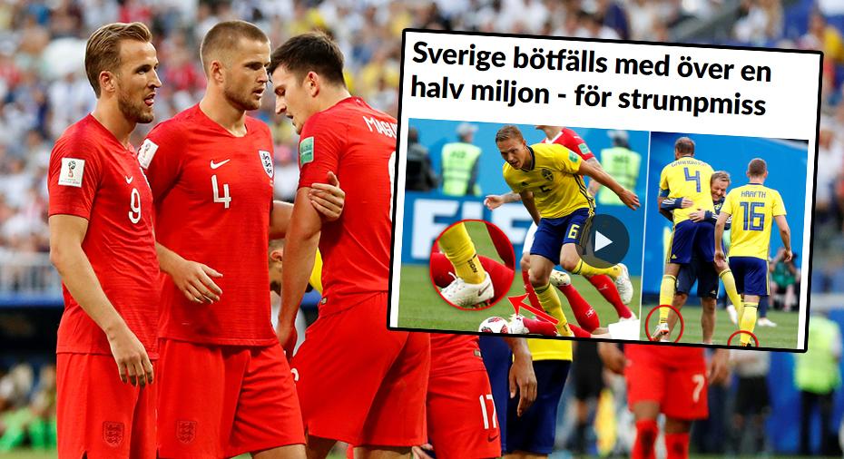 Först Sverige - nu straffas även England för miss med utrustningen