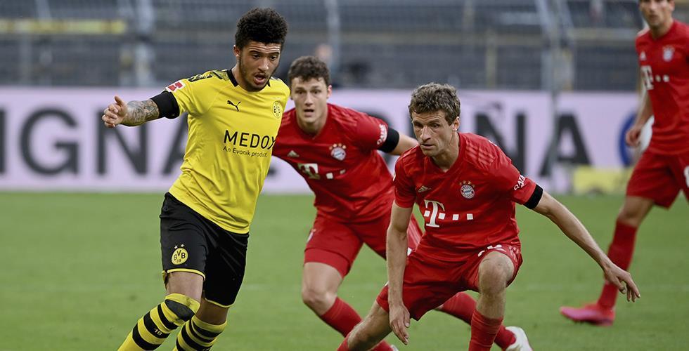 Dortmund studsar tillbaka efter den tunga förlusten