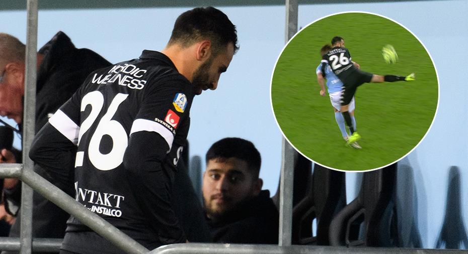 """IFK Göteborg: TV: Calisir utvisad - igen: """"Tyvärr räcker det för en andra varning"""""""