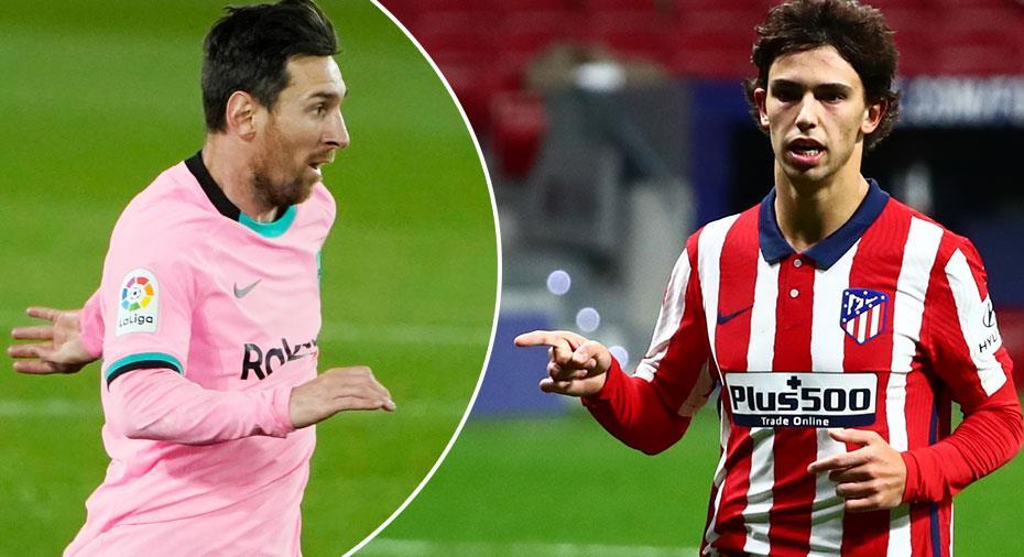 JUST NU: Stormöte utan Suárez - så ställer Atleti och Barça upp