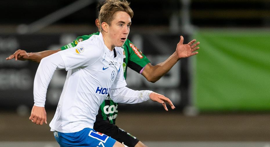 """United på plats i Varberg - Peking-löftet: """"Kul när stora klubbar tittar"""""""