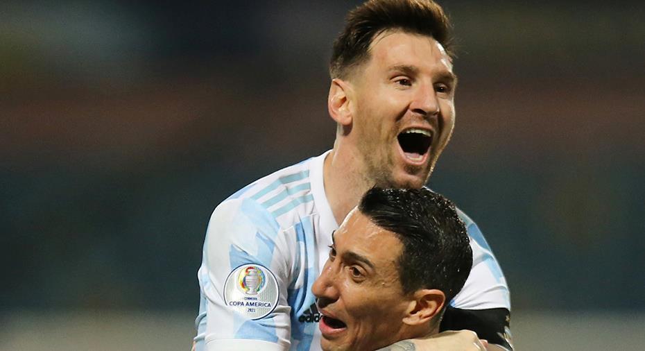 Stor Messi-show när Argentina avancerade i Copa América