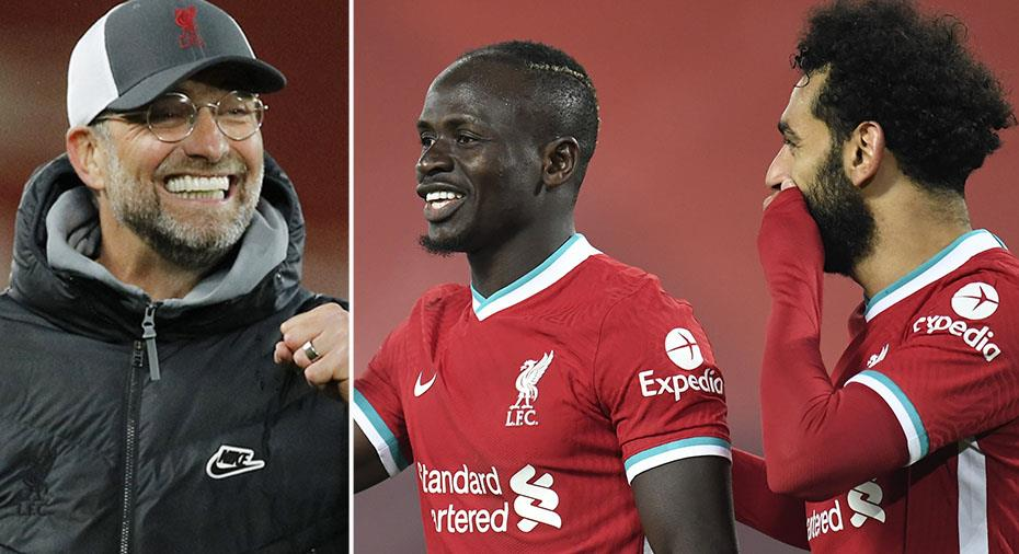 Mané och Salah i målsamarbete - för första gången sedan i juni