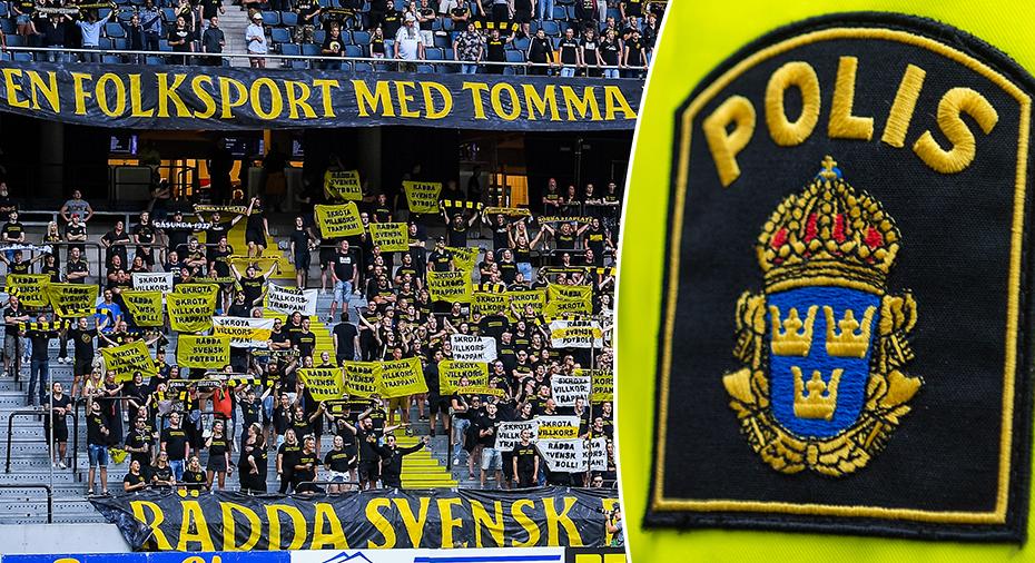 """AIK drabbas av publikneddragning - riktar frustration mot polisen: """"Villkorstrappan känns brantare än någonsin"""""""