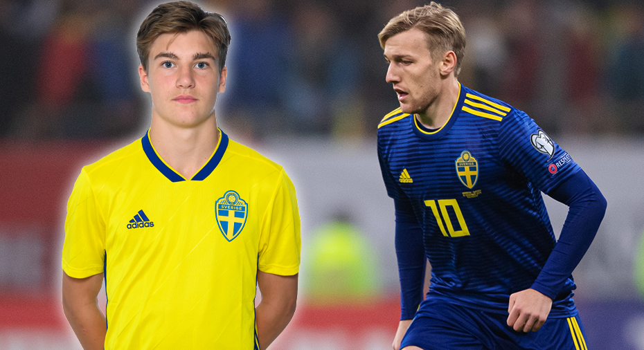 """Forsberg i träning med Sundsvall - talangen jublar: """"Det är stort"""""""