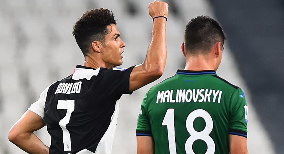 TV: Juve kryssade mot Atalanta - efter dubbla straffmål av Ronaldo