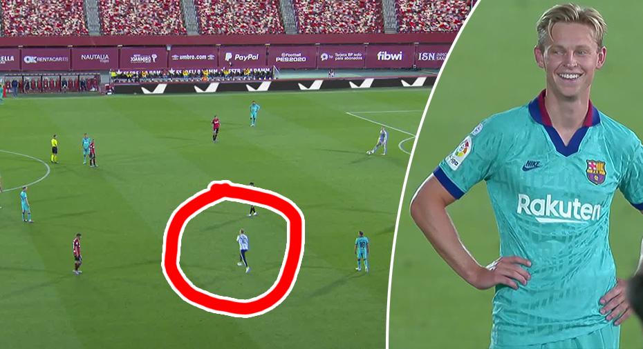 TV: Märkliga bilderna - planstormning i publikfria matchen