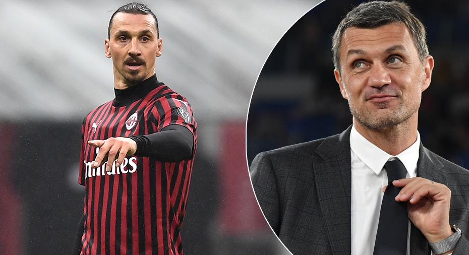 Maldini avslöjar klausulen som avgör Zlatans framtid