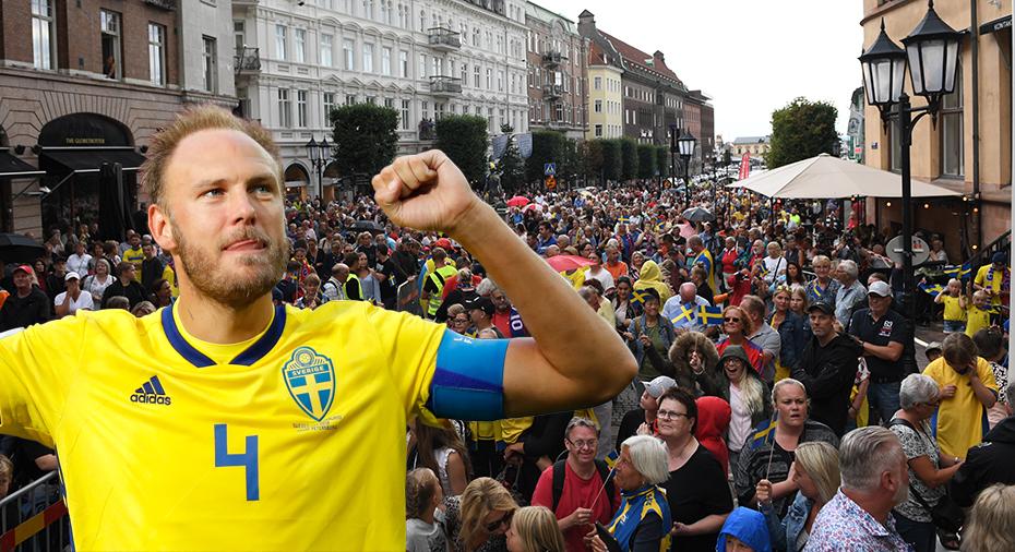 Granqvist hyllades av tusentals i Helsingborg