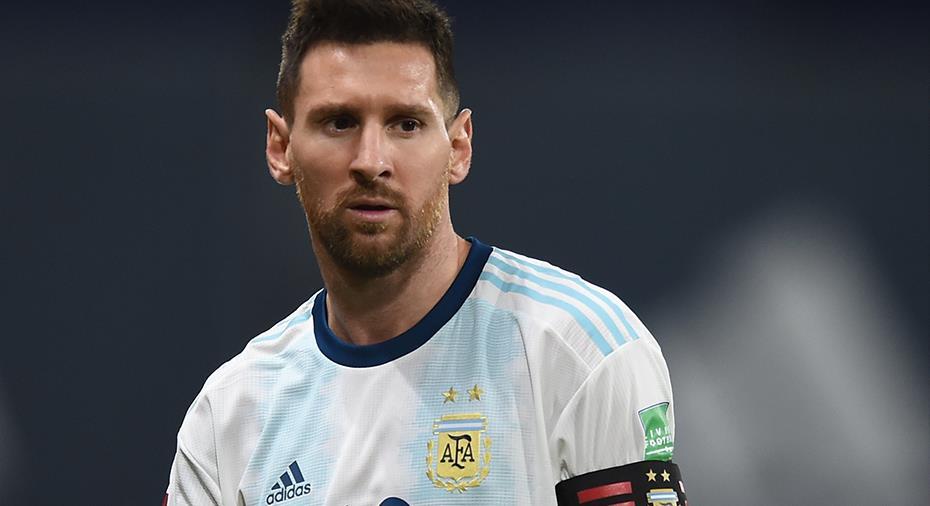 """Messi frustrerad på domaren efter poängtapp: """"Redan blåst oss två gånger"""""""