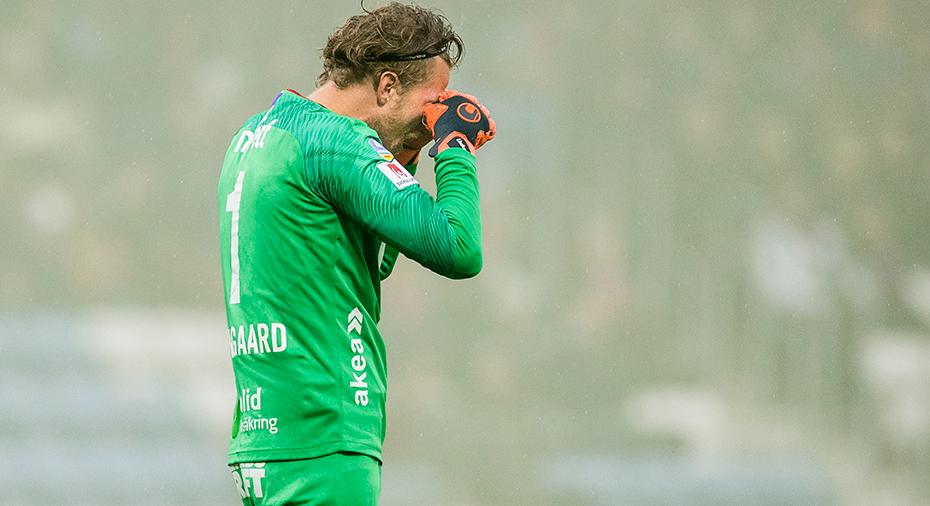 Lindegaard magsjuk – HIF startar med tredjemålvakten
