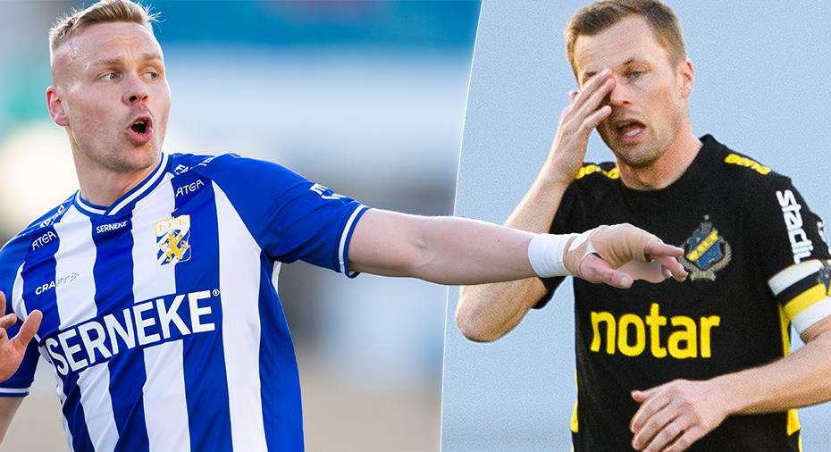 """Sigthorsson om AIK:s reaktion efter målen: """"Gissar att de inte gillar mig nu"""""""