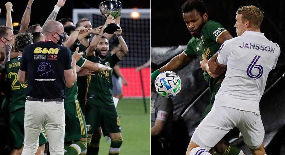 TV: Janssons Orlando föll med uddamålet – Portland mästare