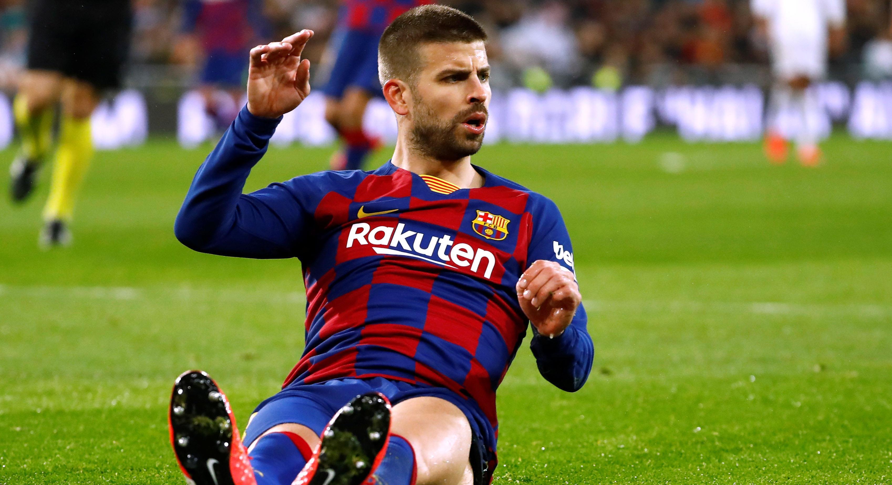 """Trots förlusten - Piqué sågar Real Madrid: """"Det sämsta jag mött på Bernabeu"""""""