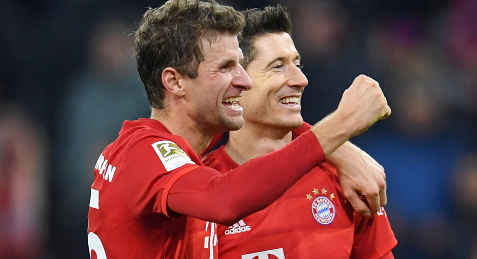 """Bayern München-pampen lyrisk: """"Thomas Müller är som en Oktoberfest för klubben"""""""